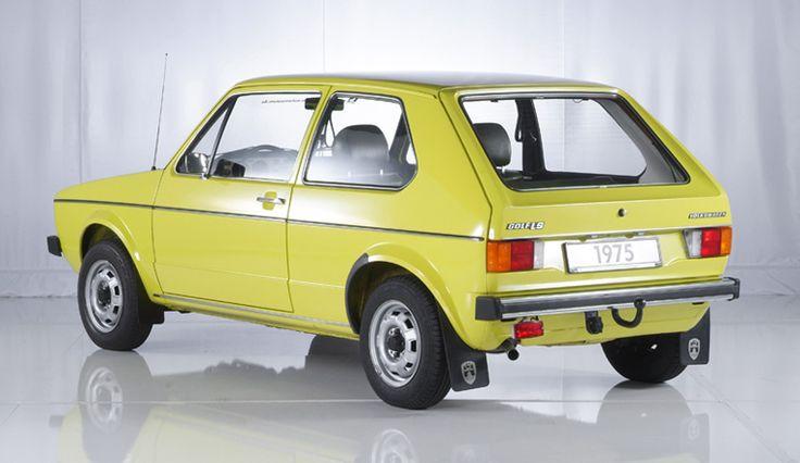 Volkswagen Golf LS (1975) - Brillantgelb (L 11 C)