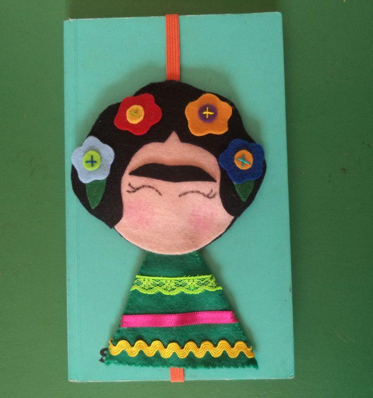 Marcadores de páginas Frida
