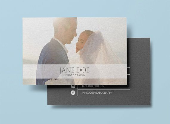 46 best business cards images on pinterest business cards photographer business card template modern by designedbyanna reheart Choice Image