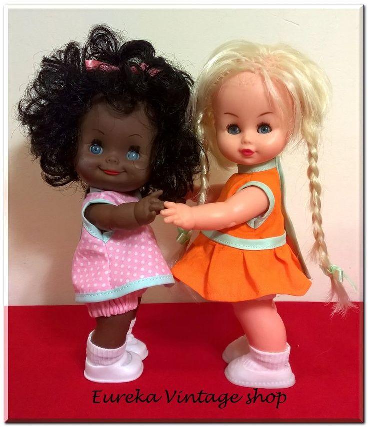 2 ελληνικές γλυκύτατες κούκλες από την δεκαετία 1970's.
