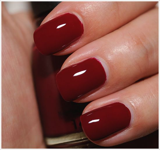 Nail Colors Burgundy: 25+ Best Ideas About Burgundy Nail Polish On Pinterest