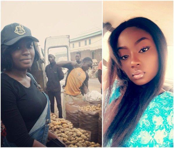 Pretty Nigerian graduate who sells Irish potatoes becomes viral sensation (Photos) http://ift.tt/2vTXLCS