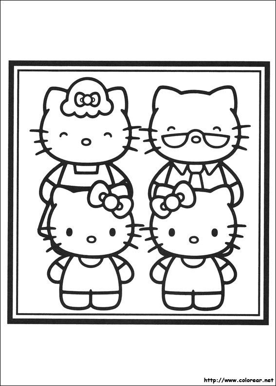 48 best hello kitty images on Pinterest Coloring books, Hello - fresh hello kitty ladybug coloring pages