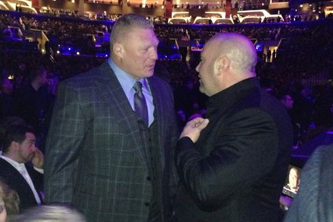 Paul Heyman Reacts to Brock Lesnar Attending UFC 184, More on CM Punk Filming a Documentary - http://www.wrestlesite.com/wwe/paul-heyman-reacts-brock-lesnar-attending-ufc-184-cm-punk-filming-documentary/