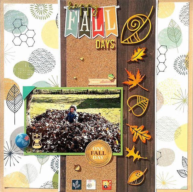 Basic Grey-Mon Ami . Scrapbook by Timi Biro: Boldog őszi napok | Happy fall days
