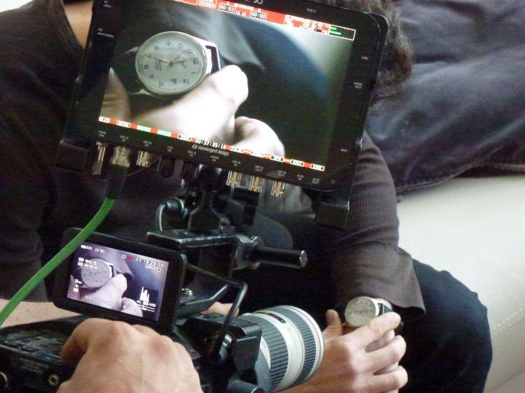 Laterna magika Cube shooting