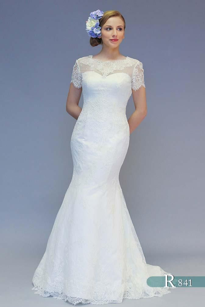 Unique Beautiful wedding dress by White Rose available at Wedding Belles of Otley