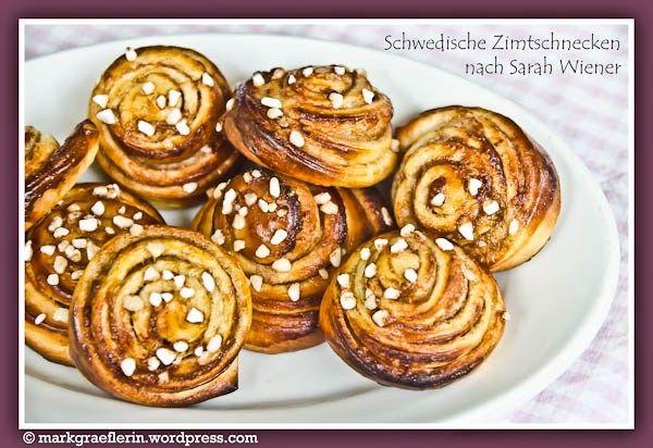Swedish Cinnamon Buns ~ Meine Nachbarin kann: Schwedische Zimtschnecken nach Sarah Wiener