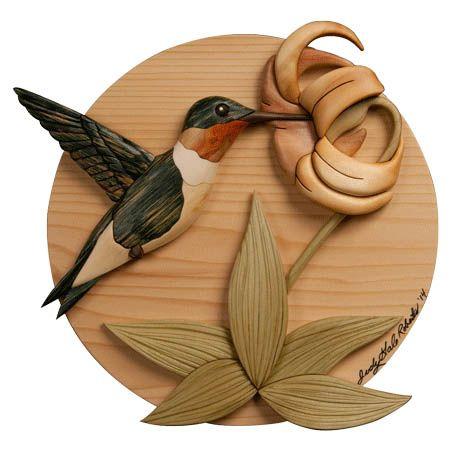 Summenvogel Intarsia Muster