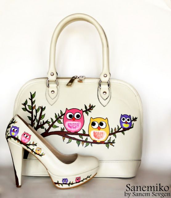 owl - Bag and shoes. Omg I need these! so i searched for owl shoes for a laugh, who knew XXX