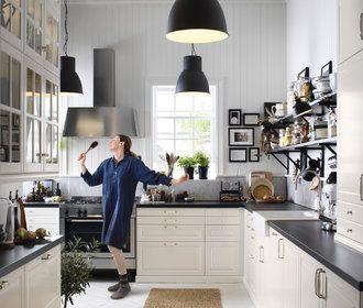 Kuchyň, jídelna a obývák. Dohromady nebo zvlášť?