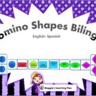 This Bilingual Domino Shapes  is an amazing game for young learners. You will find the basic geometrical shapes names in English and  Spanish. The ...
