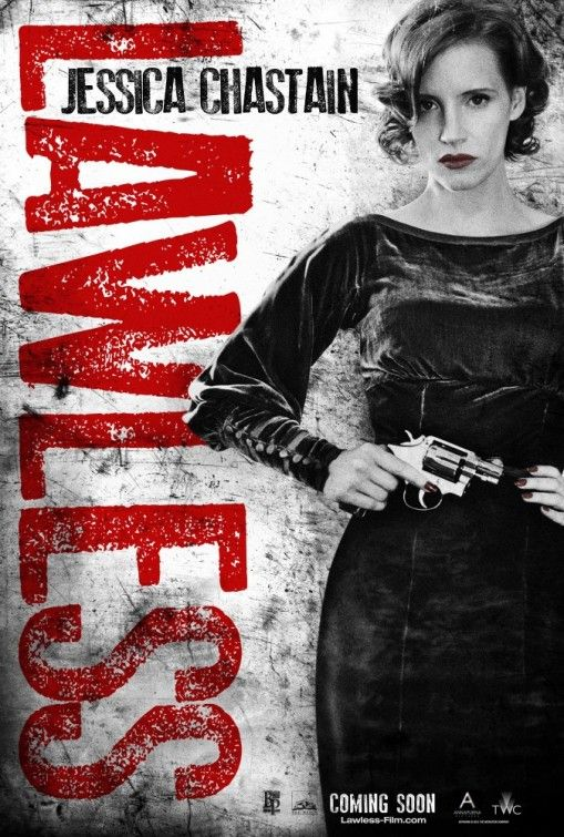 Lawless - Jessica Chastain as Maggie. 08.29.12 #lawless #movies