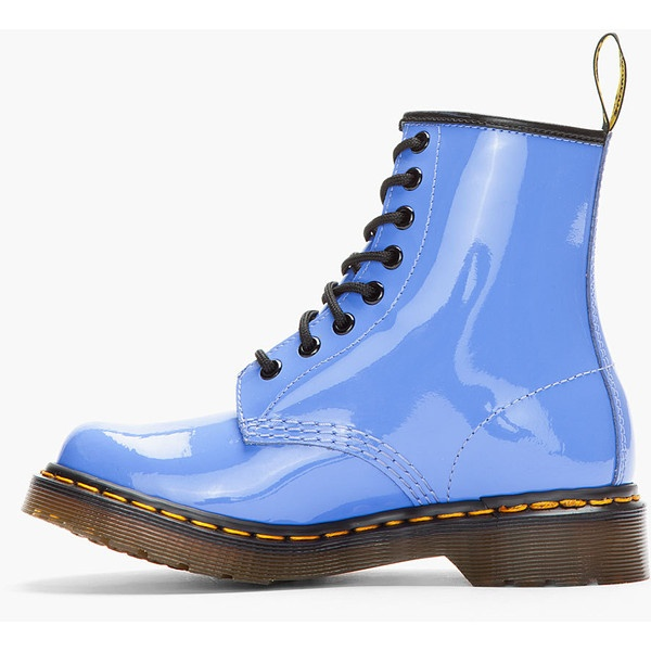 dr martens lavender patent leather 1460 w 8 eye boots 120 liked on polyvore fave shoe. Black Bedroom Furniture Sets. Home Design Ideas
