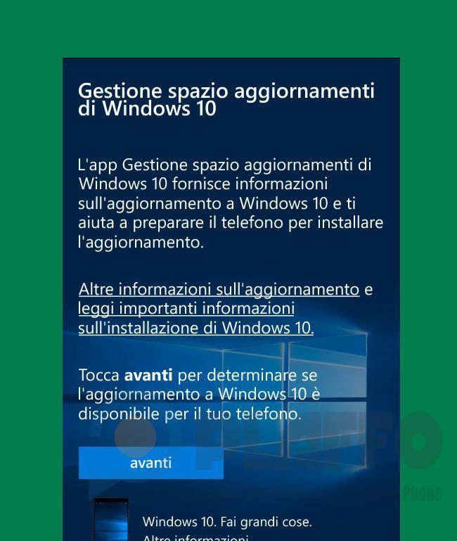 Upgrade Advisor – L'app per effettuare il passaggio da Windows Phone 8.1 a Windows 10 si aggiorna http://www.sapereweb.it/upgrade-advisor-lapp-per-effettuare-il-passaggio-da-windows-phone-8-1-a-windows-10-si-aggiorna/        Lo scorso mese abbiamo assistito al rilascio per un numero selezionato di smartphone Windows Phone 8.1 dell'aggiornamento a Windows 10 Mobile (Ufficiale: Windows 10 Mobile inizia ad essere rilasciato come aggiornamento!).  L'aggiornamento viene