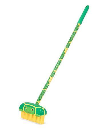 Look at this #zulilyfind! Melissa & Doug Tootle Turtle Push Broom by Melissa & Doug #zulilyfinds