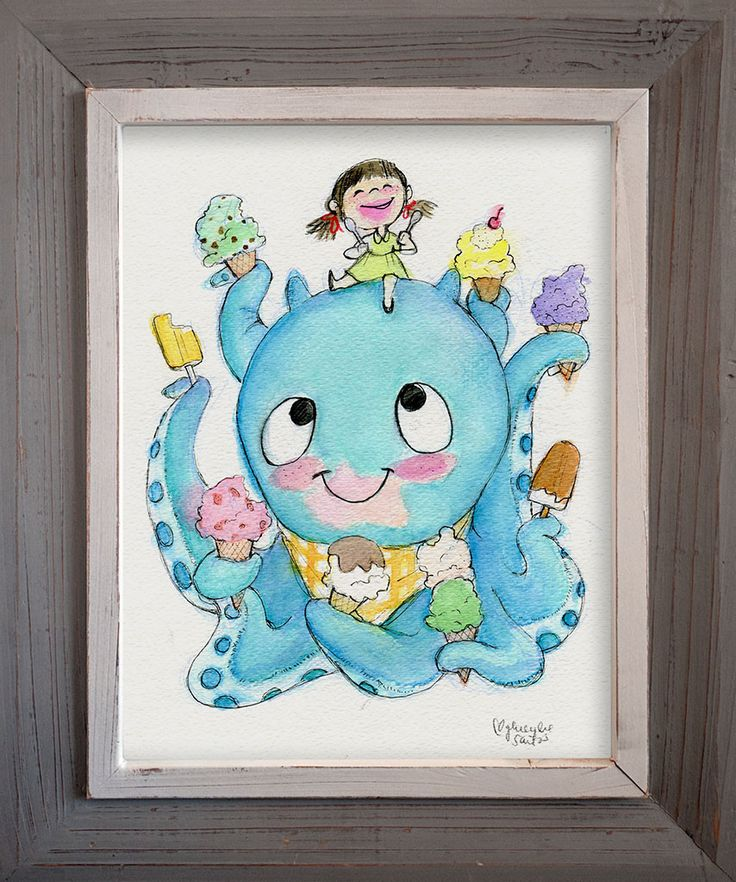 Ice Cream Buddies by Genevieve Santos