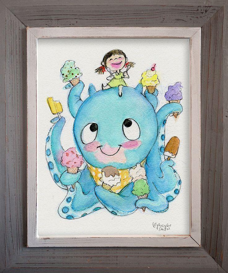 Ice Cream Buddies by Genevieve Santos