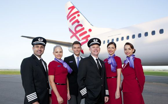 Book Virgin Australia Airlines Online Ticket Easily And At Affordable Price By Contacting Us At 1 877 294 Airline Uniforms Flight Attendant Uniform Australia