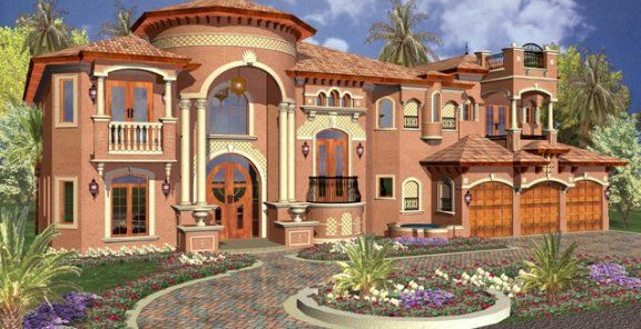 This is an ITALIAN STYLE HOME. I LOVE it!!  What Does Your House Style Say About You?  | Homesessive.com