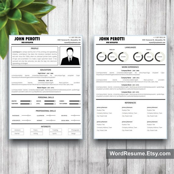 19 best CV images on Pinterest Cv template, Resume and Resume - professional font for resume