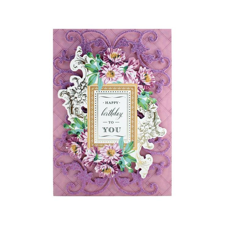 Anna Griffin® Charming Collage Card Toppers 3 - 8275168 | HSN