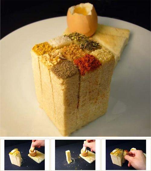 Puntadas deliciosas: Diseños culinarios con pan