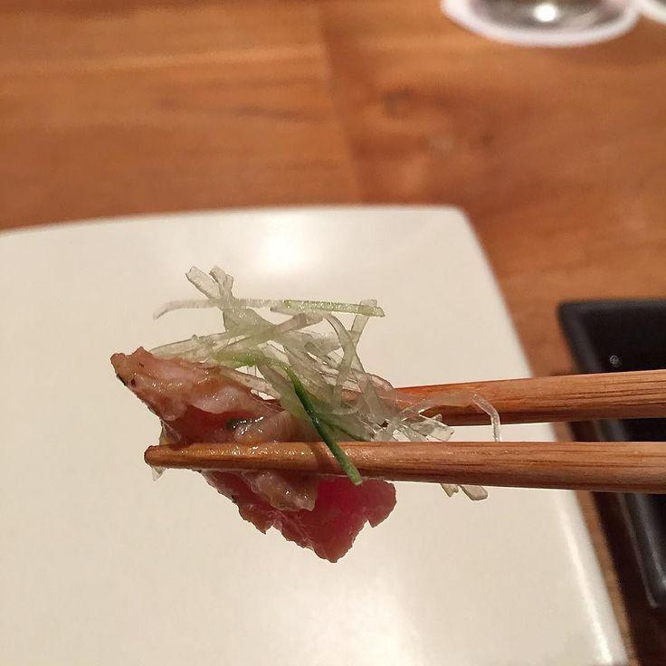 Tuna Belly Tataki. #bali #travel #trip #japan #japanese #restaurant #shiro #tuna #belly #tataki #tunabelly #sushi #sashimi #발리 #여행 #일본 #일식 #참치 #뱃살 #타타키 #참치뱃살 #요리 #싱싱 #고급 #럭셔리 #먹방 #맛집 by jaeminlee145