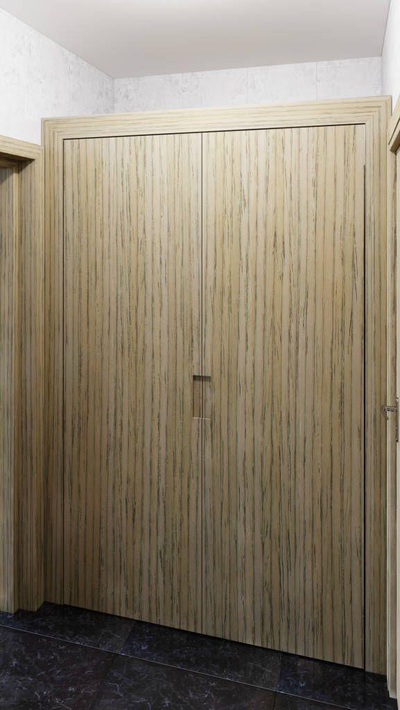 Busca imágenes de Recámaras de estilo moderno en translation missing: mx.color.recámaras.acabado-en-madera: Closet. Encuentra las mejores fotos para inspirarte y crea tu hogar perfecto.