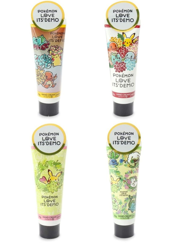 Picture of Pokemon LOVE ITS'DEMO Brand Collection Hand Cream