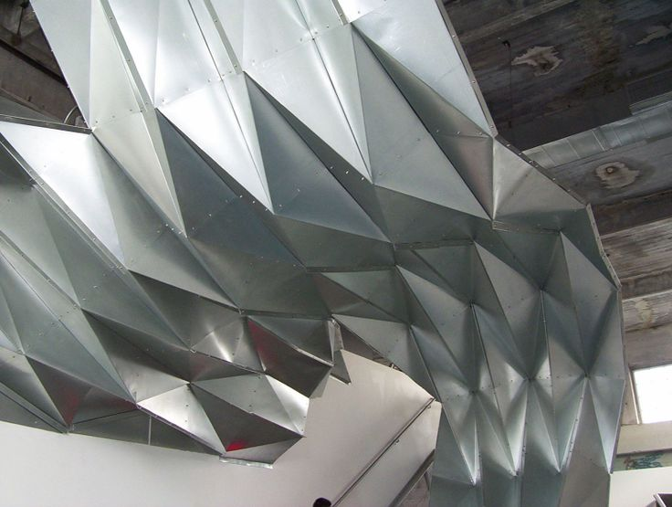 Stainless steel structure at the Southern California Institute of Architecture