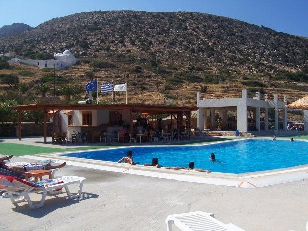 Oasis, Ios island, Greece
