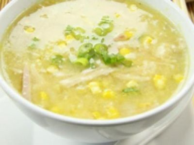 Chinese Chicken and Sweet Corn Soup Recipe