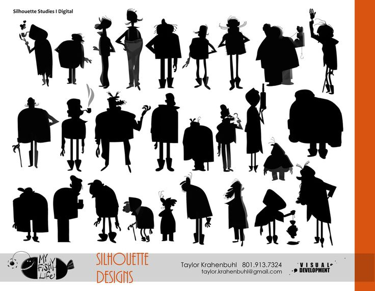 Character Design Silhouette : Best images about silhouette char design on pinterest