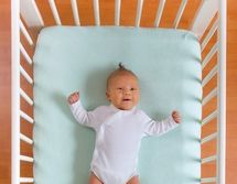 Why you shouldn't use bumper pads...AAP Recommends Against Crib Bumpers for SIDS Prevention