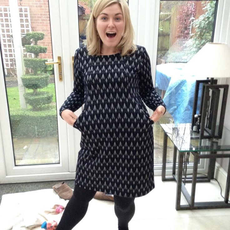 SOIshowoff: Sew Over It Heather Dress with extra exciting pockets