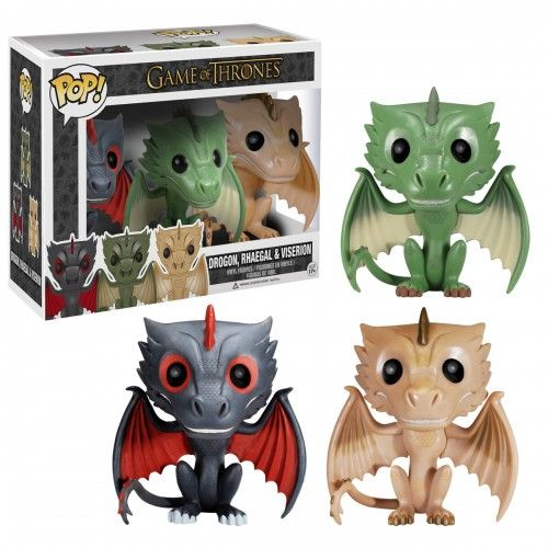 Game of Thrones Dragon 3 Pack - Oh my! I must have these! @Vanessa Samurio Henriquez