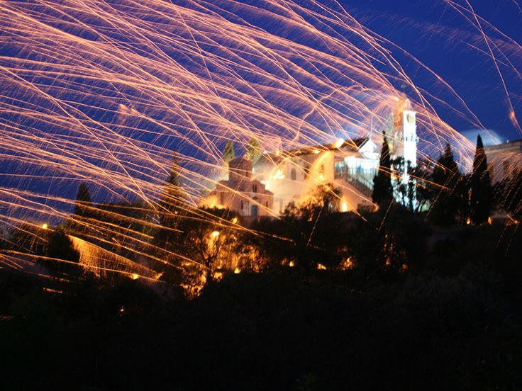 Rocket war in Chios