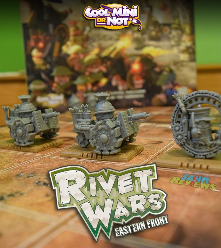 Put aside that boring chess board and take a look at a real 2-player strategy game by Cool Mini or Not - Rivet Wars! - SahmReviews.com