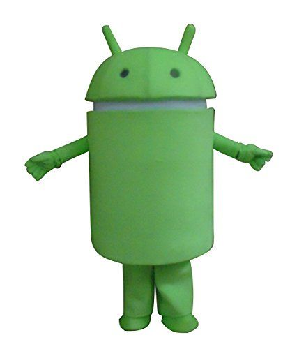 """Buy Android Robot Mascot Costume Cospaly Cartoon Character Adult Size  **    Android** **    Fit 5'2"""" to 5'9"""".Weighing up to 150lbs.If you need other size, please email us.** **    Including: Head+Body Costume+Shoes+Gloves** **    Material: Polyfoam (Head),Short Hair Velvet (Outer),Polyester Taffeta (Lining), Polypropylene Cotton (Filling)**  Buy From Amazon  http://www.amazon.com/gp/product/B00SWF010Y?tag=canreb0c-20"""