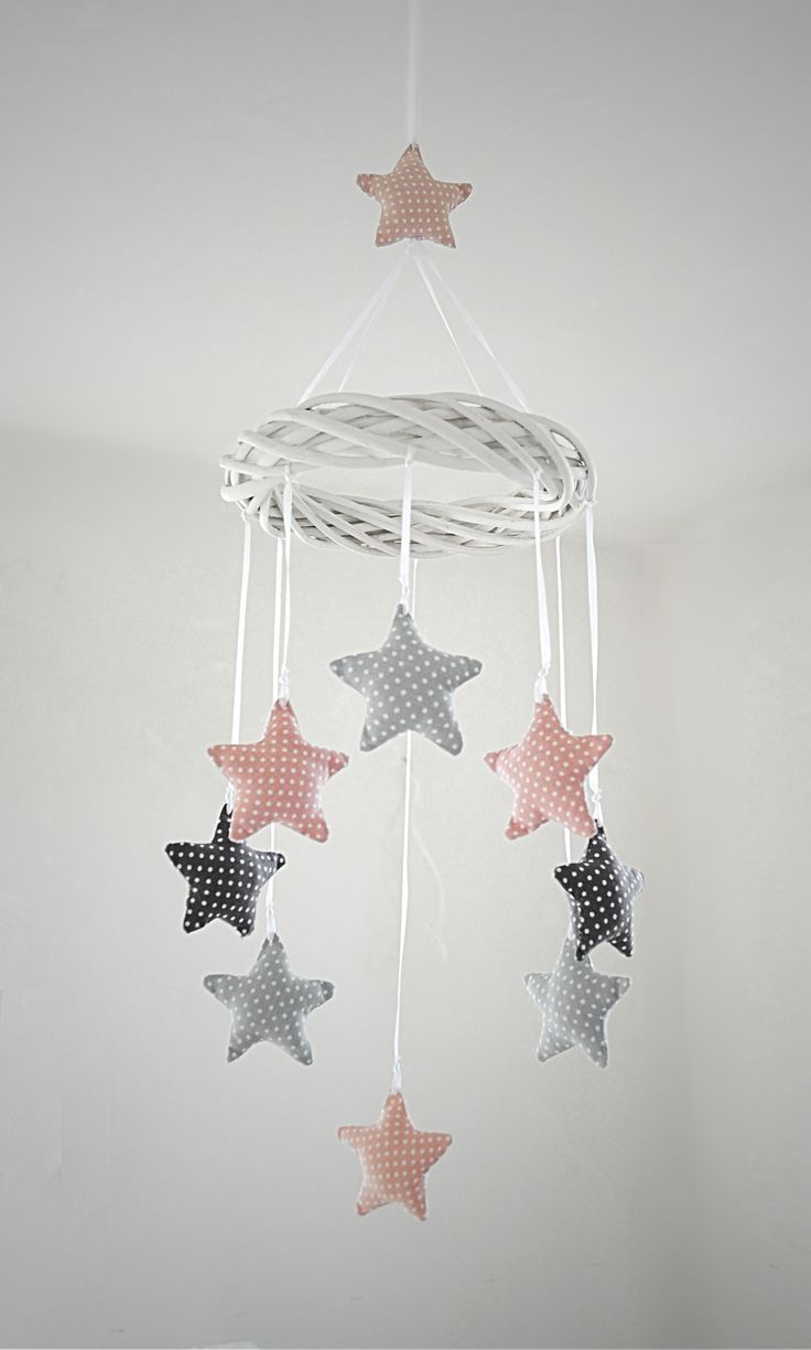Star kids room decoration. made by Pracownia Lollipop. https://www.facebook.com/PALollipop (Best Blush Mobiles)