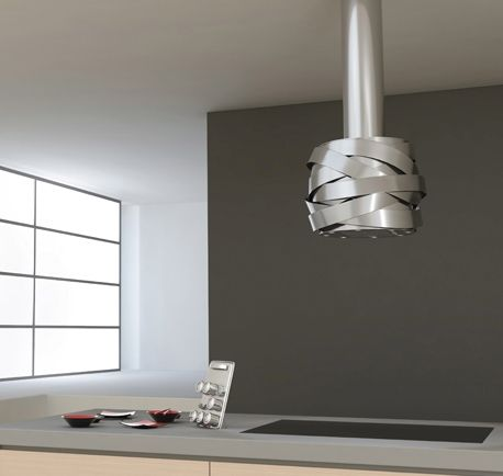 Designer Island Extractor Fan Kitchen