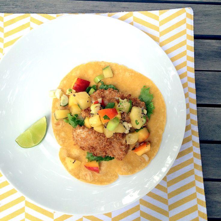 Shrimp Tacos with Kiwi Salsa – Uteki Recipes, Food, & Cooking