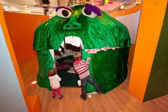 Bert the Monster Yurt, made for Discover   Flickr - Photo Sharing!