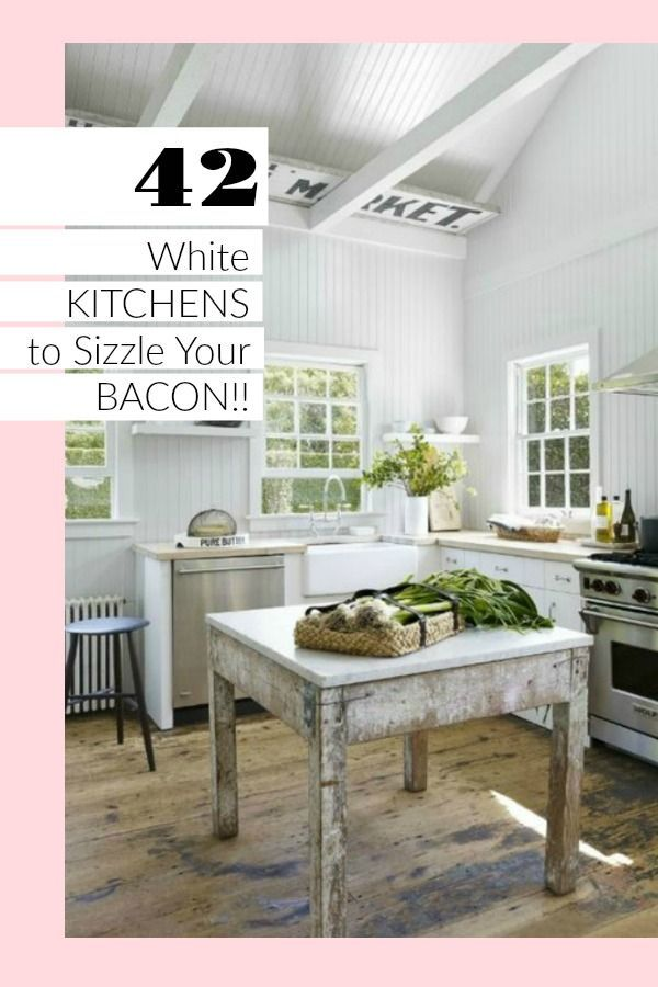 White Kitchens Design Ideas GUEST Pins Interiors Pinterest