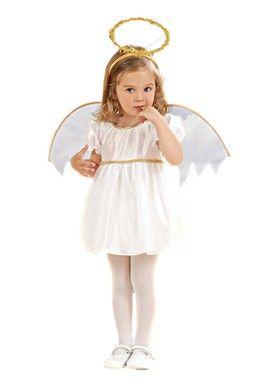 Beyaz Melek kız çocuk kostümleri