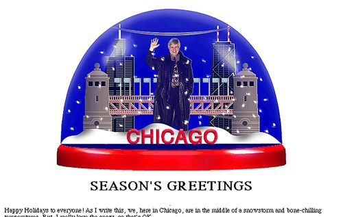 Online holiday greeting card.