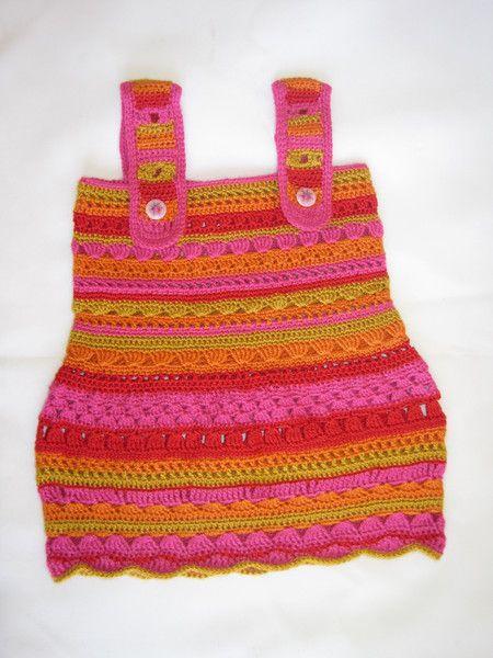 Vestido bebé de Mestizo Textiles por DaWanda.com