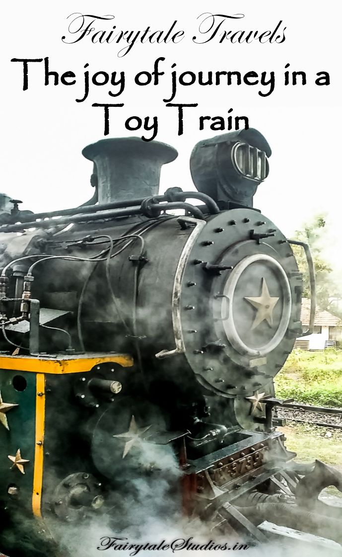 Read about the wonderful & beautiful journey in a toy train to Ooty, India. The train run by a steam engine is also  UNESCO World Heritage site.  #fairytalestudios #fairytaleoftheday #toytrain #unescoworldheritage #ooty #steamtrain #heritage