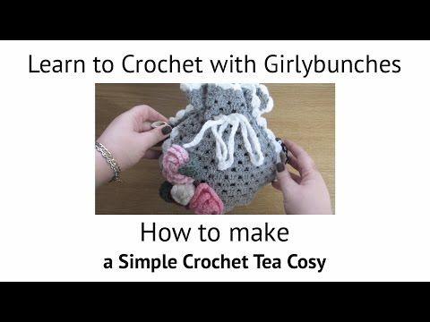 Crochet Tea Cosy Tutorial | Girlybunches - YouTube